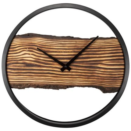 Ceas de perete NeXtime Forest 30cm, lemn