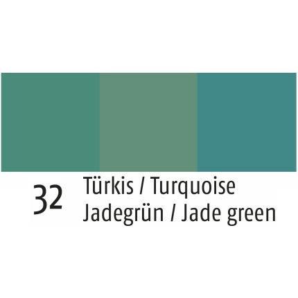 Servet Sander Jacquards Cutlery 47x47cm, 32 turcoaz