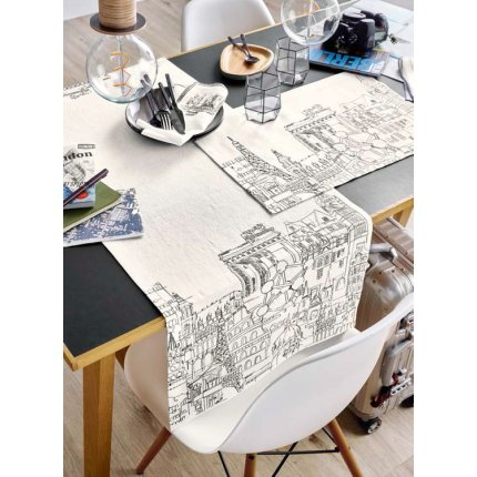 Suport farfurii Sander Linen Europe 35x50cm, 29 ecru
