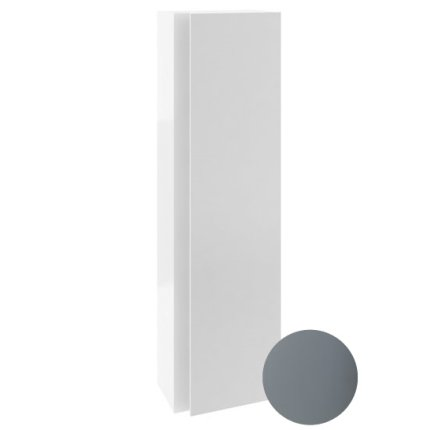 Dulap inalt tip coloana Ravak Concept 10° cu o usa, 45x29x160cm, gri