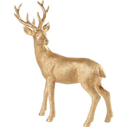 Decoratiune Villeroy & Boch Winter Collage Accessoires Deer Standing Gold 22cm