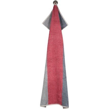 Prosop baie Cawo Polo Block Stripes 70x140cm, 32 travertin