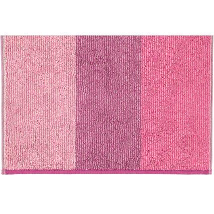 Prosop baie Cawo Polo Block Stripes 50x100cm, 82 purple