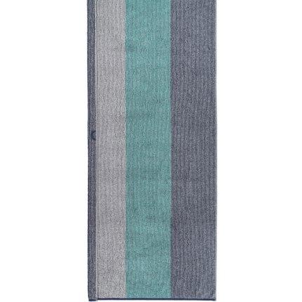 Prosop baie Cawo Polo Block Stripes 70x180cm, 14 albastru safir