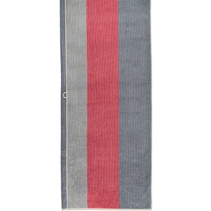 Prosop baie Cawo Polo Block Stripes 70x180cm, 32 travertin