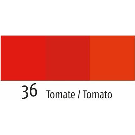 Fata de masa Sander Garden Bistro Allegro 150x250cm, acoperire acrylica, 36 Tomato