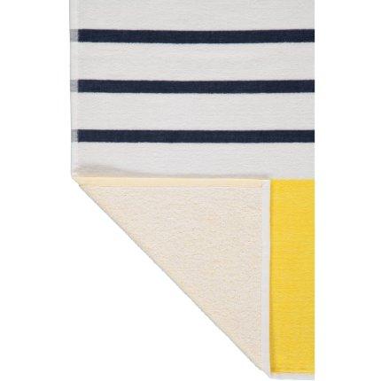 Prosop plaja S.Oliver Stripes 80x180cm, 15 galben