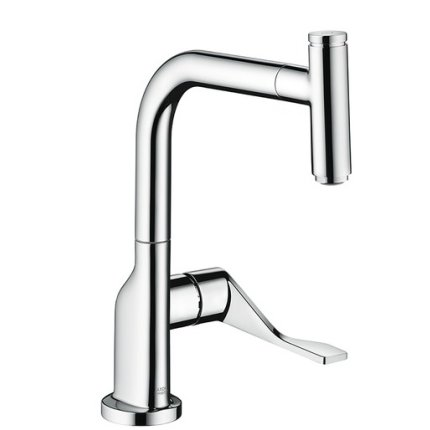 Baterie bucatarie Hansgrohe Axor Citterio Select, dus extractibil