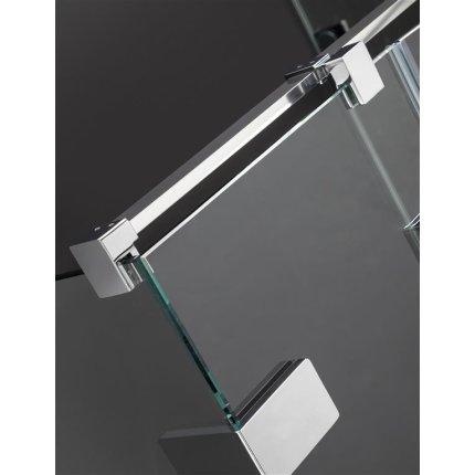 Usa de dus Radaway Arta KDJ I 90cm cu deschidere stanga, profil Chrome+