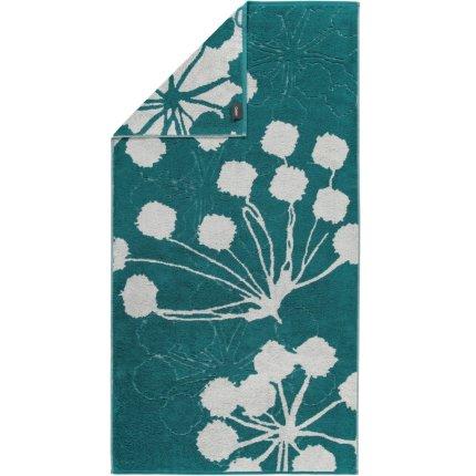 Prosop baie Cawo Cottage Floral 70x140cm, 47 smarald