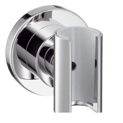 Showerpipe Hansgrohe Axor Citterio cu baterie termostatata si palarie cu 1 jet