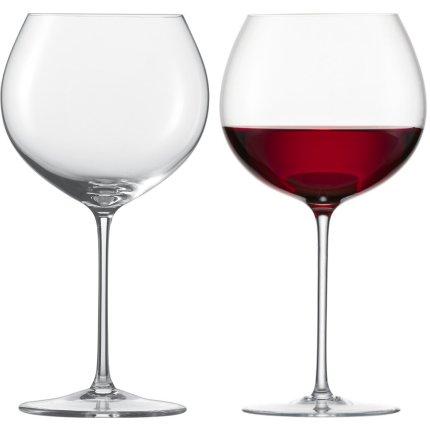 Set 2 pahare vin rosu Zwiesel Glas Enoteca Burgundy, handmade, 750ml