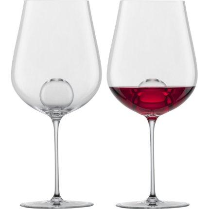 Set 2 pahare vin rosu Zwiesel Glas Air Sense, design Bernadotte & Kylberg, handmade, 631ml
