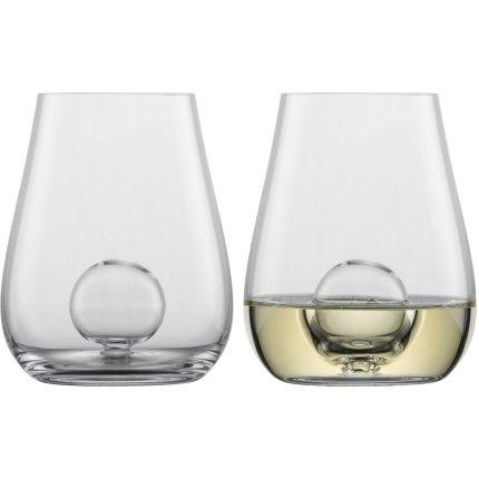 Set 2 pahare Zwiesel Glas Air Sense Allround, design Bernadotte & Kylberg, handmade, 423ml