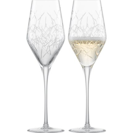 Set 2 pahare sampanie Zwiesel Glas Bar Premium No.3, design Charles Schumann, handmade, 272ml