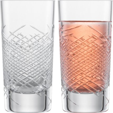 Set 2 pahare Zwiesel Glas Bar Premium No.2 Longdrink, design Charles Schumann, handmade, 353ml