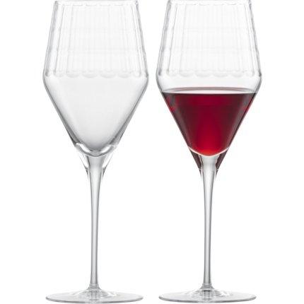 Set 2 pahare vin rosu Zwiesel Glas Bar Premium No.1 Bordeaux, design Charles Schumann, handmade, 453ml
