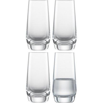 Set 4 pahare Zwiesel Glas Pure Shot 94ml