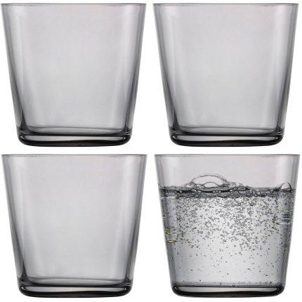 Set 4 pahare apa Zwiesel Glas Together 367ml, grafit