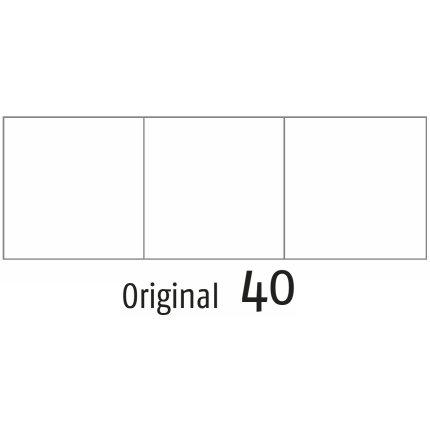 Perna interioara Sander Kissenfullung 45x45cm, pene rata 100%, 40 Original