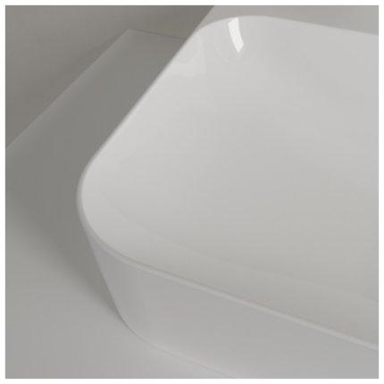 Lavoar Villeroy & Boch Finion 60x44.5cm, cu montare pe blat, fara preaplin, alb