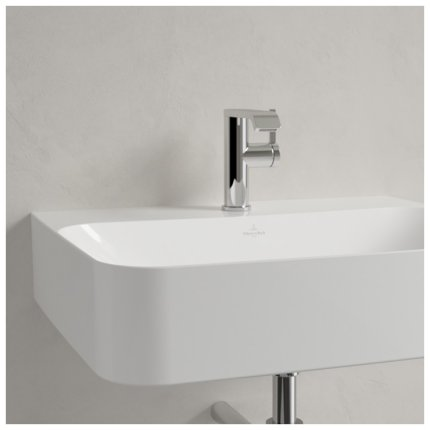 Lavoar Villeroy & Boch Finion 60x47cm, fara preaplin, alb