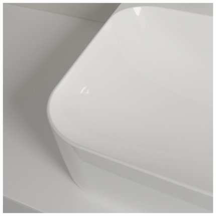 Lavoar Villeroy & Boch Finion 60x47cm, finisat suplimentar, alb