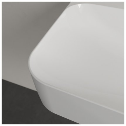 Lavoar Villeroy & Boch Finion 80x47cm, fara preaplin, alb