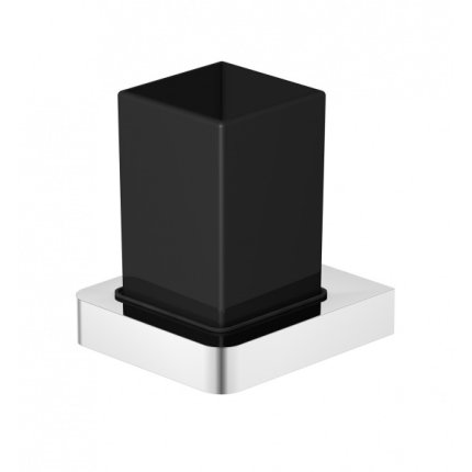 Pahar cu suport de perete Steinberg seria 420 crom-negru