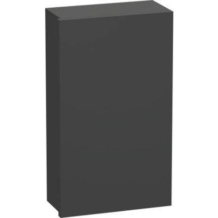 Dulap suspendat Duravit Delos 88x50x25cm, deschidere dreapta, grafit mat