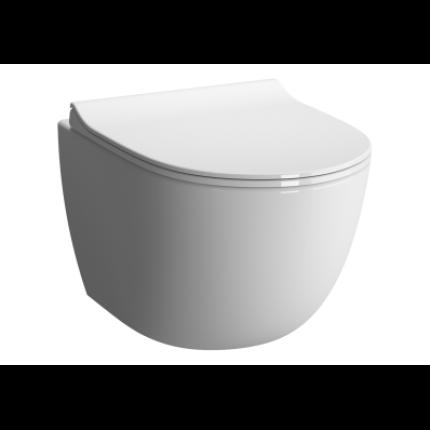 Vas WC suspendat Vitra Sento Compact 50cm