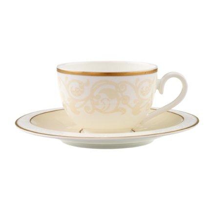 Ceasca si farfuriuta cafea Villeroy & Boch Ivoire