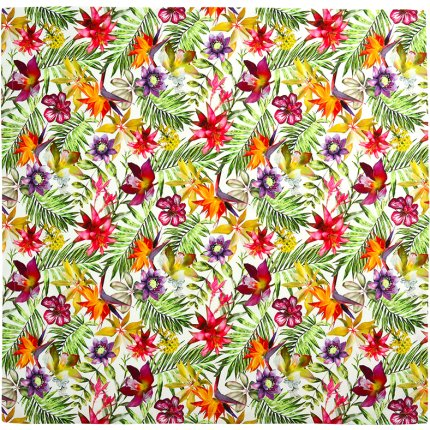 Fata de masa Sander Prints Jamala 150x250cm, 40 natur