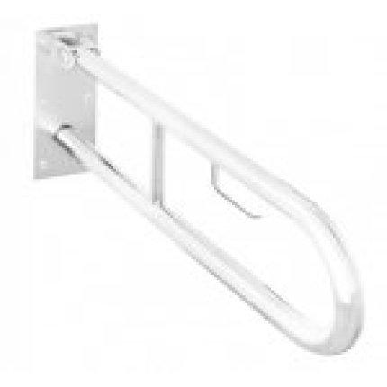 Bara reversibila de sustinere U 90 cm Bemeta Help alb cu agatatoare