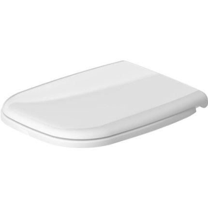 Set vas WC suspendat Duravit D-Code 54.5x35.5cm si capac inchidere lenta