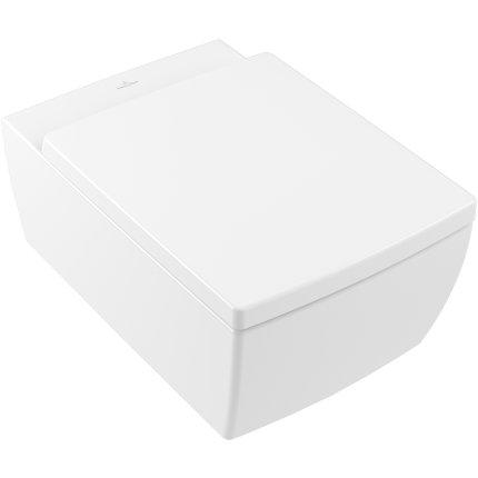 Vas WC suspendat Villeroy & Boch Memento 2.0 DirectFlush, 56x37.5cm, Alb Alpin