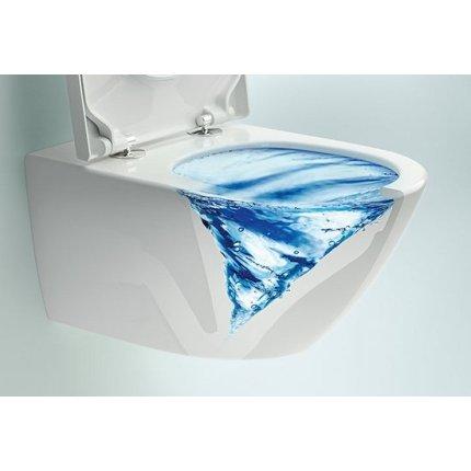 Set vas WC suspendat Villeroy & Boch Subway 3.0 TwistFlush cu capac inchidere lenta
