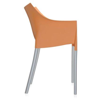 Scaun Kartell DR. NO design Philippe Stark, portocaliu