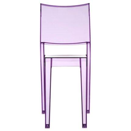 Scaun Kartell La Marie design Philippe Starck, violet transparent