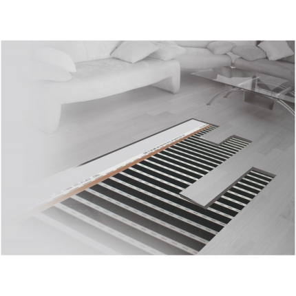 Kit Ecofilm folie incalzire pentru pardoseli din lemn si parchet ES13-530 1,5 mp
