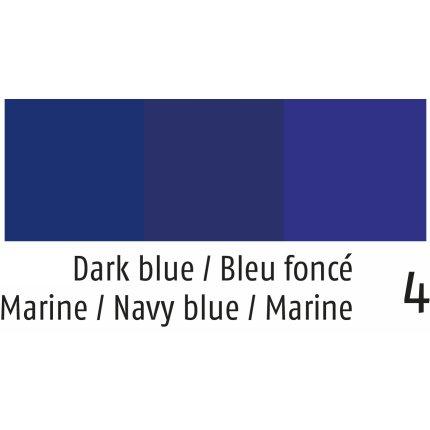 Fata de masa rotunda Sander Prints Anouk d160cm, 4 albastru navy