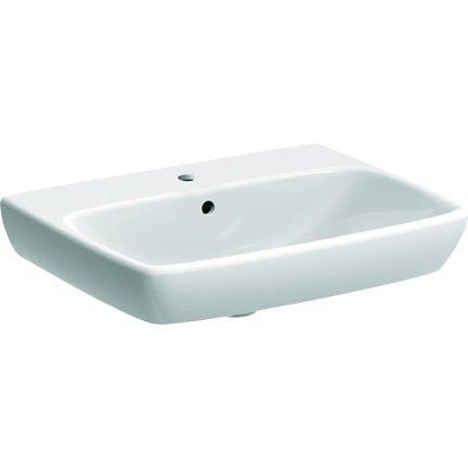 Lavoar Geberit Selnova Square 60cm, alb