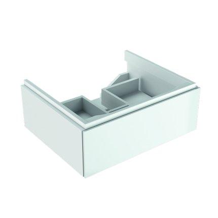 Dulap baza Geberit Xeno2 58x46.2x22cm cu un sertar, alb lucios