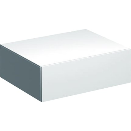 Dulap suspendat Geberit Xeno2 58x46.2x20cm cu un sertar, alb lucios