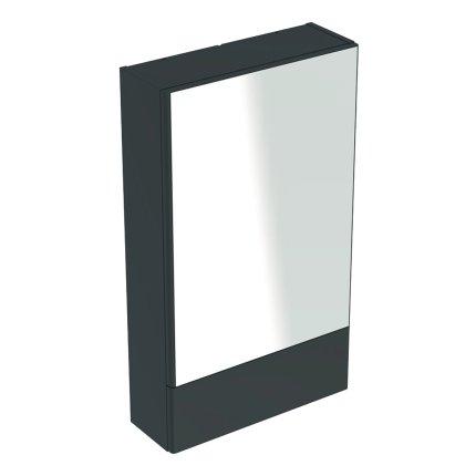 Dulap cu oglinda Geberit Selnova Square, 49.3x85x17.6 cm, lava mat
