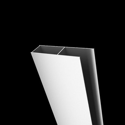 Profil de extensie tip U Radaway Classic Alb 4cm