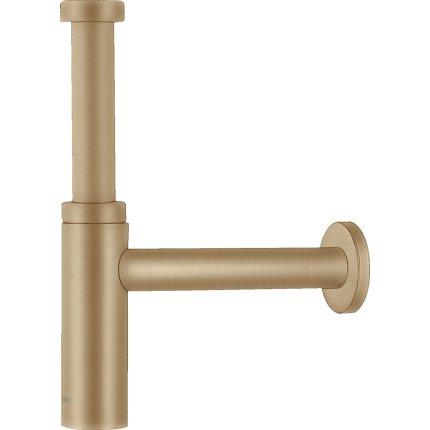 Sifon lavoar Design Plus Hansgrohe Flowstar S, bronz periat