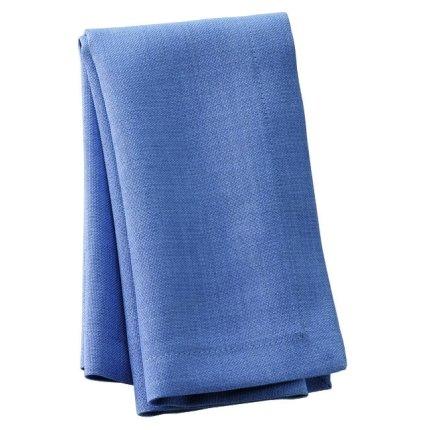 Fata de masa ovala Sander Basics Loft 150x200cm, protectie anti-pata, 10 Blue