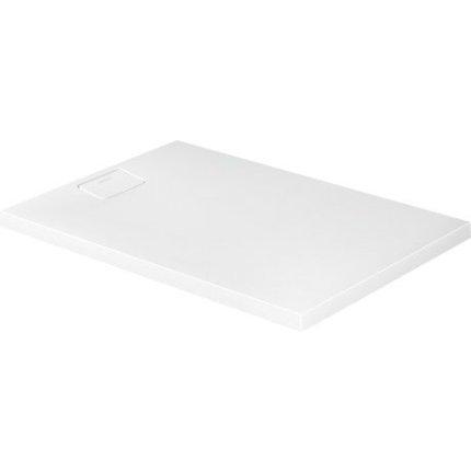 Cadita de dus dreptunghiulara Duravit Stonetto 80x120 cm, compozit alb