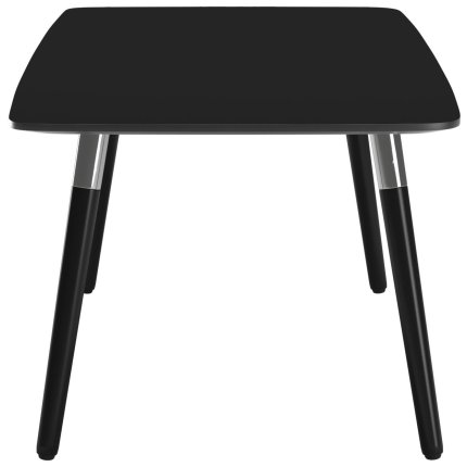 Masuta Stressless Style 137cm, h47cm, baza negru, blat negru